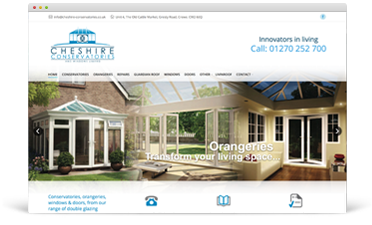 Cheshire conservatories